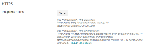 Pengalihan HTTPS