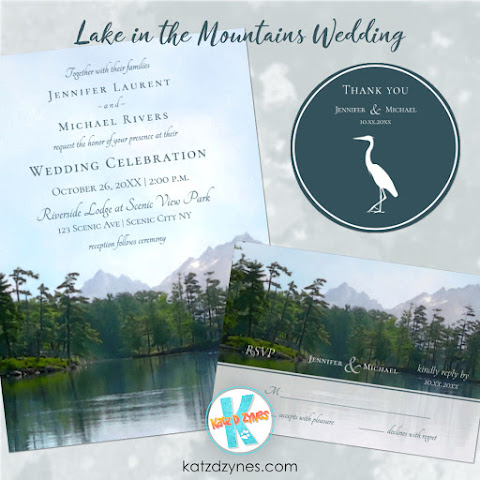 Lake in the Mountains Wedding by katzdzynes