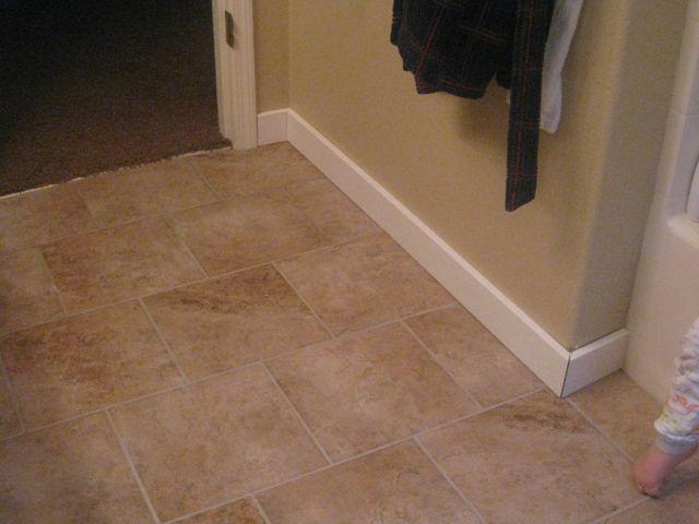 Handy Honey Master Bath Floor Tile Part 2
