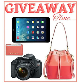 Enter the iPad / Camera Instagram Giveaway. Ends 5/15