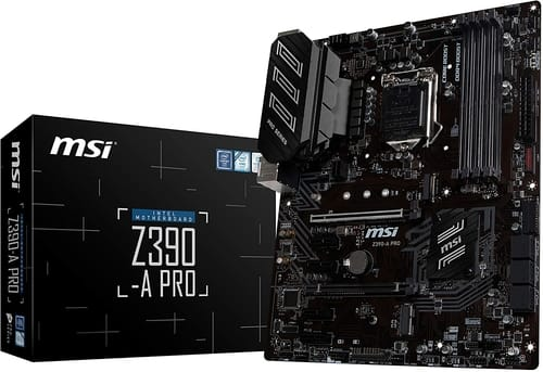 Review MSI Z390-A PRO LGA1151 Gaming Motherboard