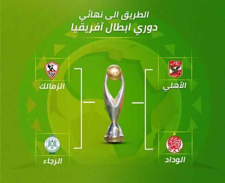 الكاف يعلن خطة إكمال دوري أبطال أفريقيا