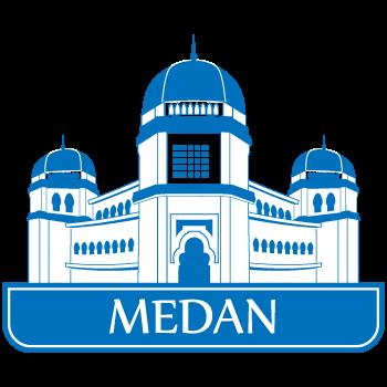 Indonesian Big City Landmark Drawian