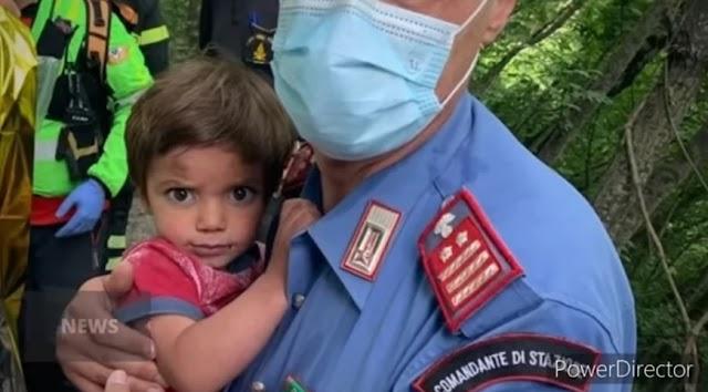 Ιταλία: Βρέθηκε ο 2χρονος που είχε εξαφανιστεί από το σπίτι του σε ορεινή περιοχή της Τοσκάνης