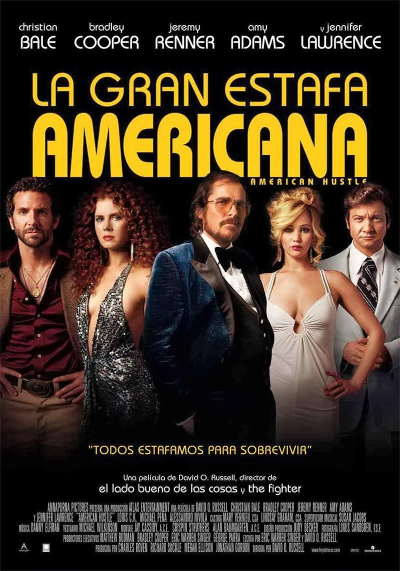LA GRAN ESTAFA AMERICANA (David O. Russell-2013)