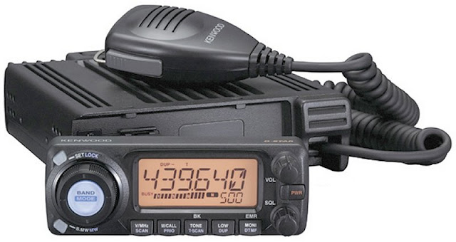 Kenwood TMW-706 Mobile Radio VHF UHF