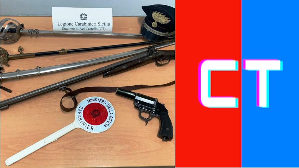 Aggresione Aci Castello Carabinieri