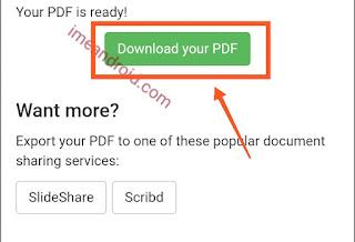 Simpan file pdf
