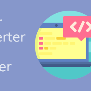 Cara Membuat Tools Halaman Parser/Converter HTML Blogger