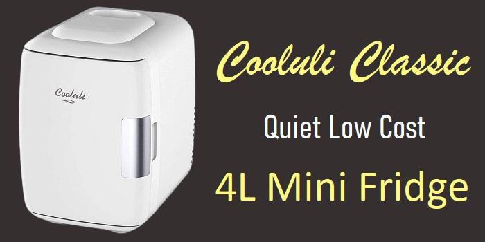 Cooluli Classic - 4L Portable Mini Fridge + Warmer