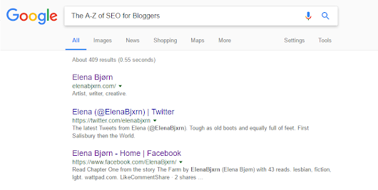 The A-Z of SEO for Bloggers