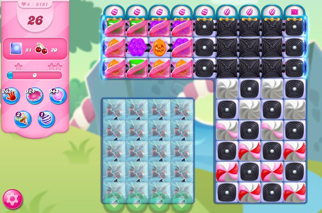 Candy Crush Saga level 8151