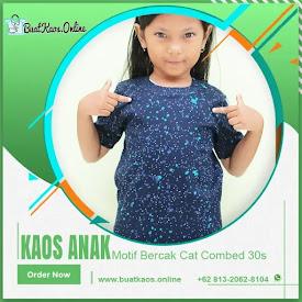 Kaos Anak Motif Bercak Cat Full Print Lucu <price>Rp.20.000</price> <del>Rp.35.000</del> <code>#Bercak Anak</code>