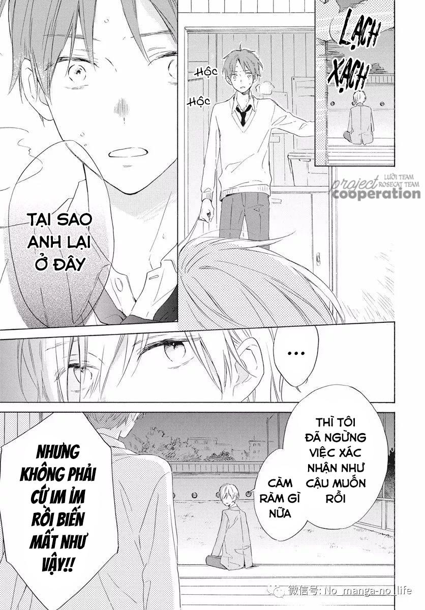 Kimi wa Haru ni Me wo Samasu chap 16 - Trang 10