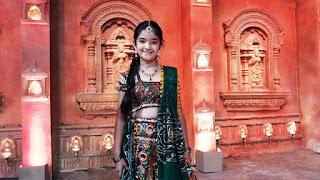 Gambar Keren Anushka Sen dalam Film BaalVeer