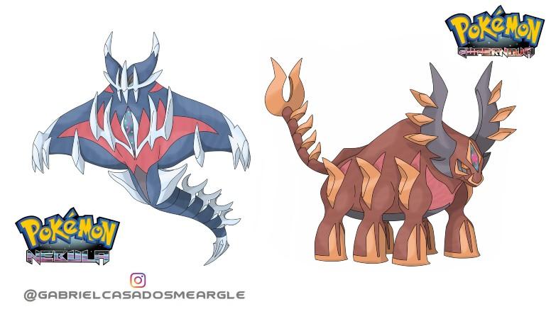 Pokémon lendários estrelas