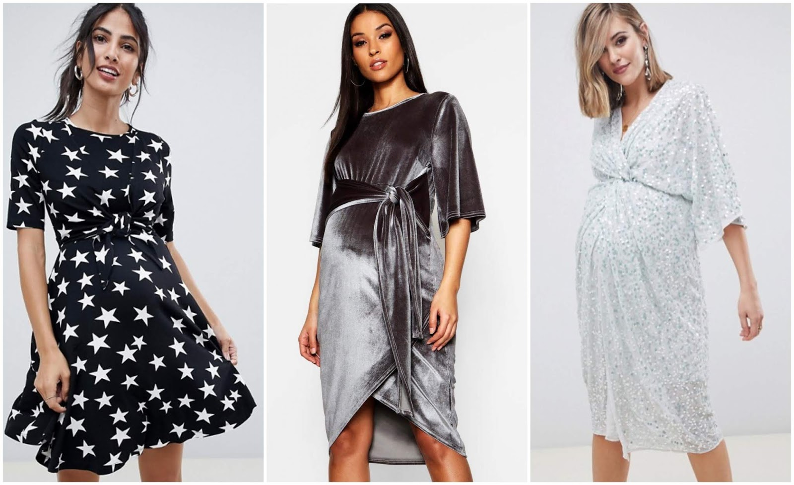 Maternity Christmas Dress.Festive Maternity Party Wear And A Christmas Gift Guide For