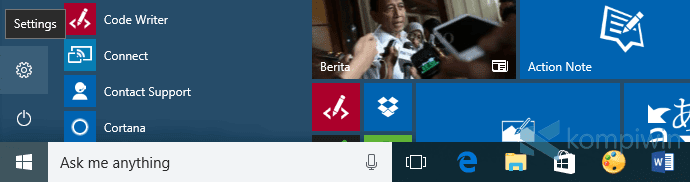 Cara Menyembunyikan Badge Angka Notifikasi di Taskbar 1