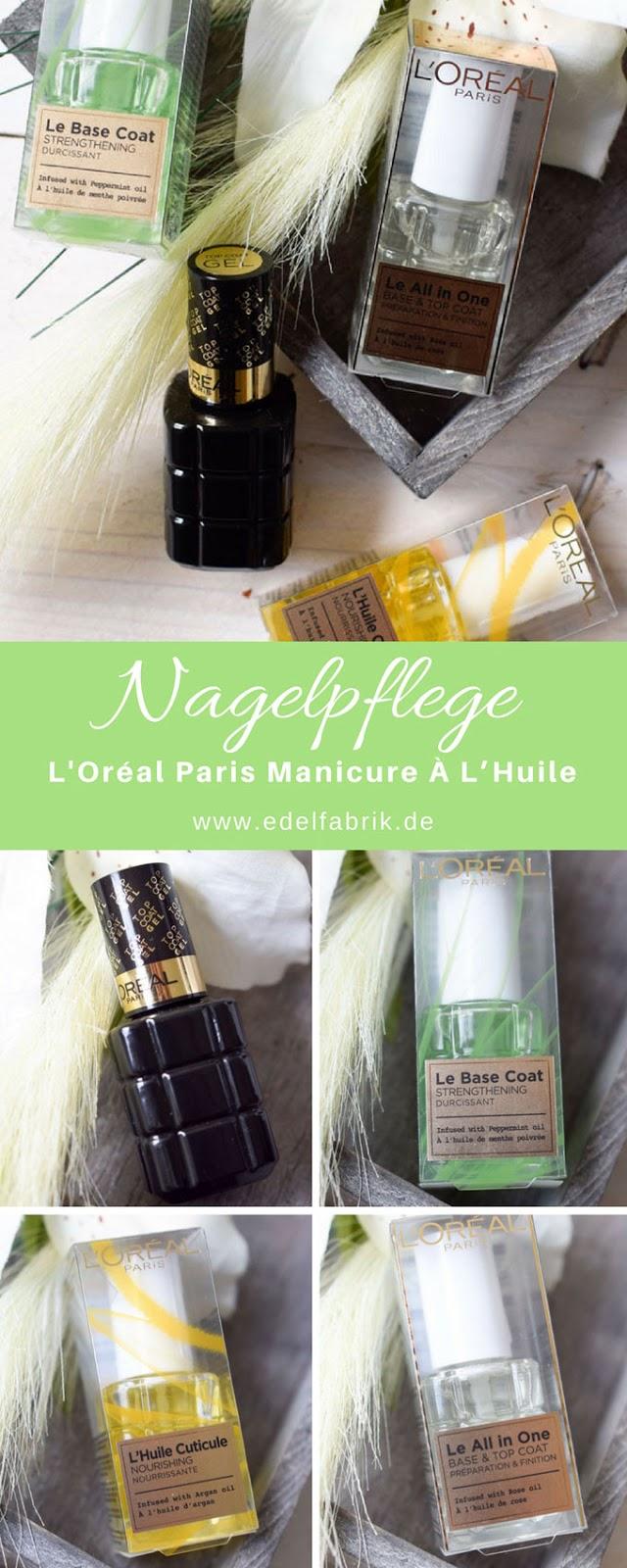 Pflege für die Nägel von L'Oréal Paris