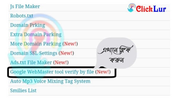 Google WebMaster tool verify by file