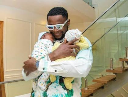 Kizz Daniel Triplet Babies