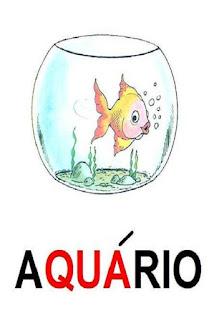 cartaz qua de aquário