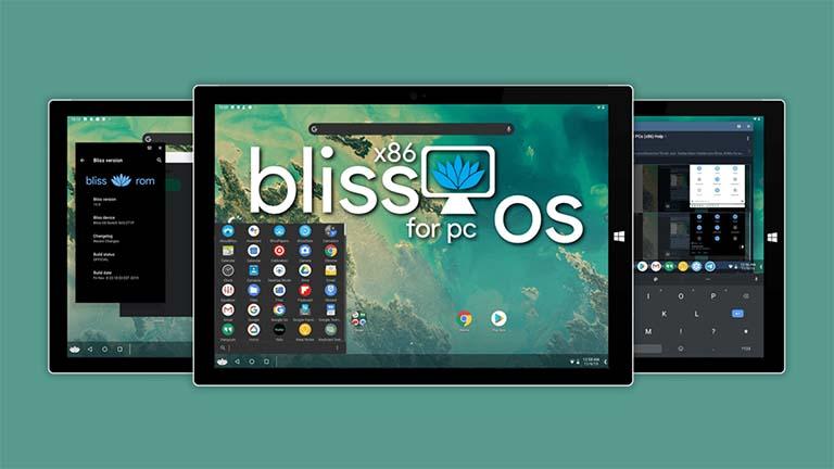 Cara Menginstal Bliss OS 12 Dengan Android 10 Di Komputer Apapun