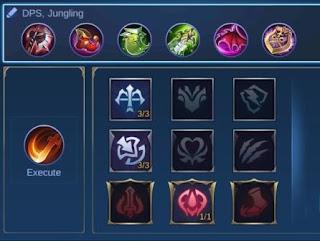 Yu Zhong's items