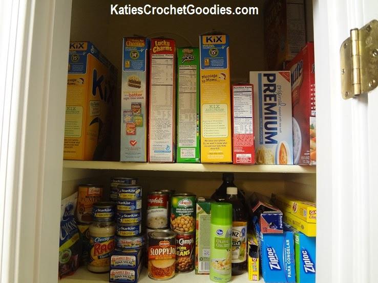 skinny deep pantry organization