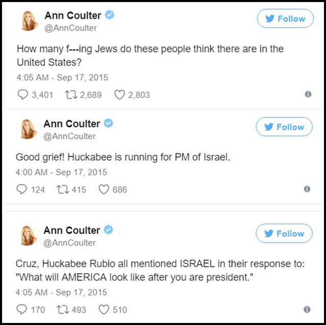 Ann Coulter on Right Wing Violence