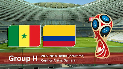 Live Streaming Senegal vs Colombia Piala Dunia 28.6.2018