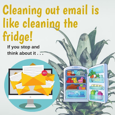 Cleaning Out Email is Like Cleaning the Fridge