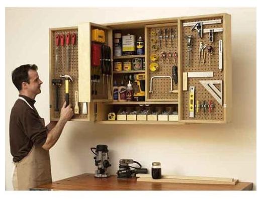 Tool Storage Cabinet - theprojectlady.com