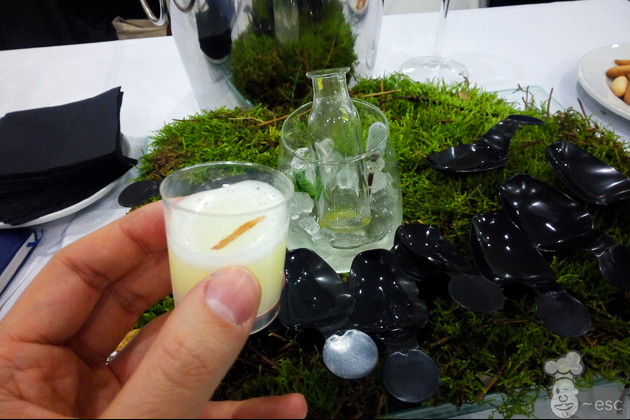 coctel Jeux denfants con aceite de oliva