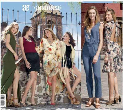 catalogo andrea ropa de primavera 2017