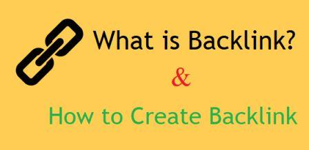 What is Backlink And How to Create Backlink For Website/Blog