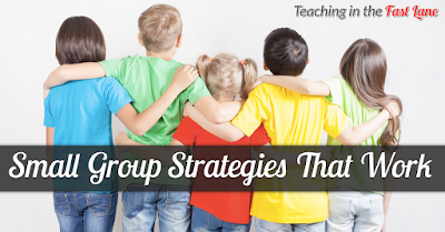 Small group strategies to make the most our of your limited reteach time.