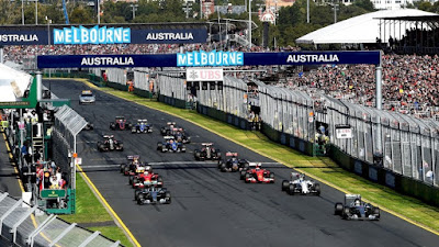 Hasil F1 Australia 2016