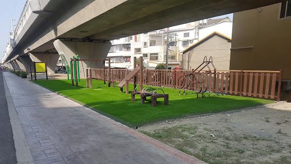 員林鐵路高架下南方橋長廊 員林市公所打造運動休憩空間