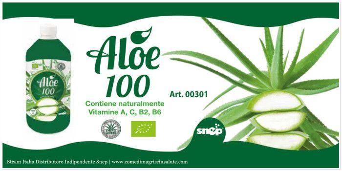 Succo Di Aloe Vera 100% Bio Snep