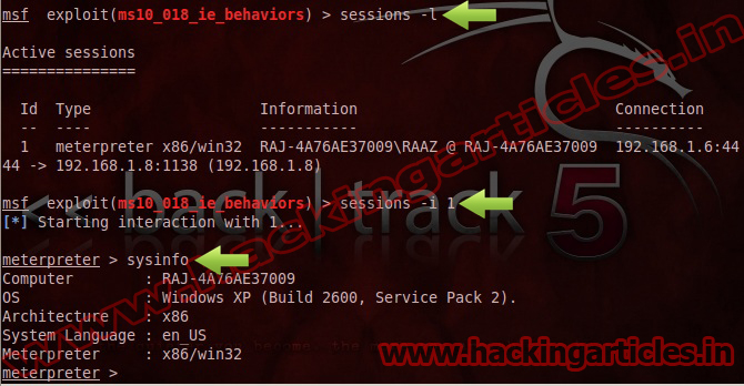 How to Attack in LAN PC using Internet Explorer DHTML Behaviors