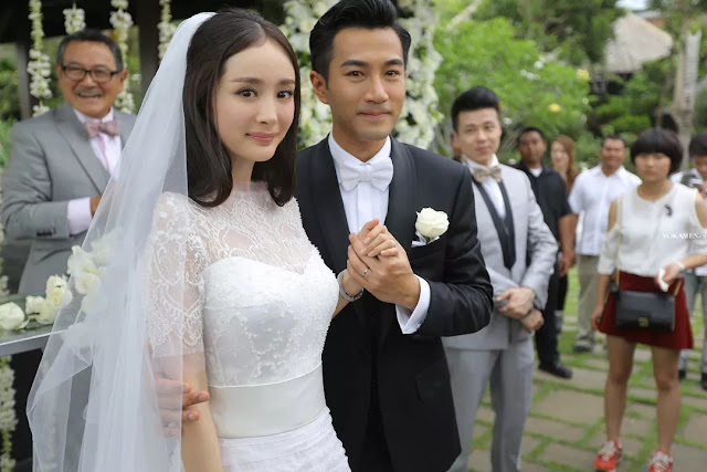 Yang Mi Hawick Lau confirm divorce