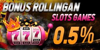 BONUS ROLLINGAN SLOTS GAMES 0.5%