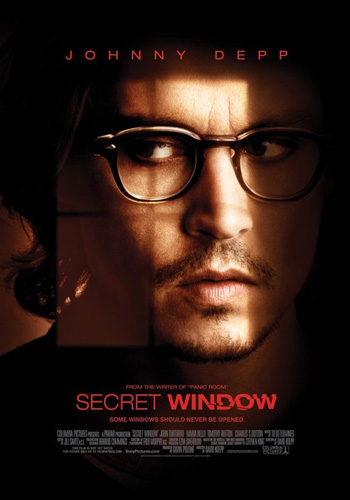 Secret Window 2004 Dual Audio ORG Hindi 720p BluRay 850MB ESubs poster