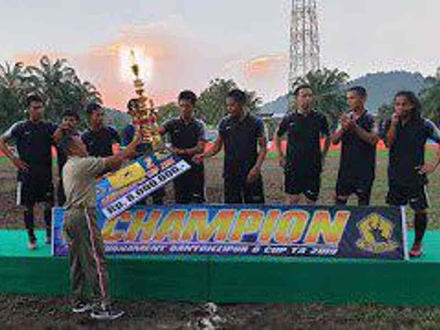 Open Turnamen Danyonzipur 6 Cup 2019 di Sei Pinyuh Berjalan Sukses