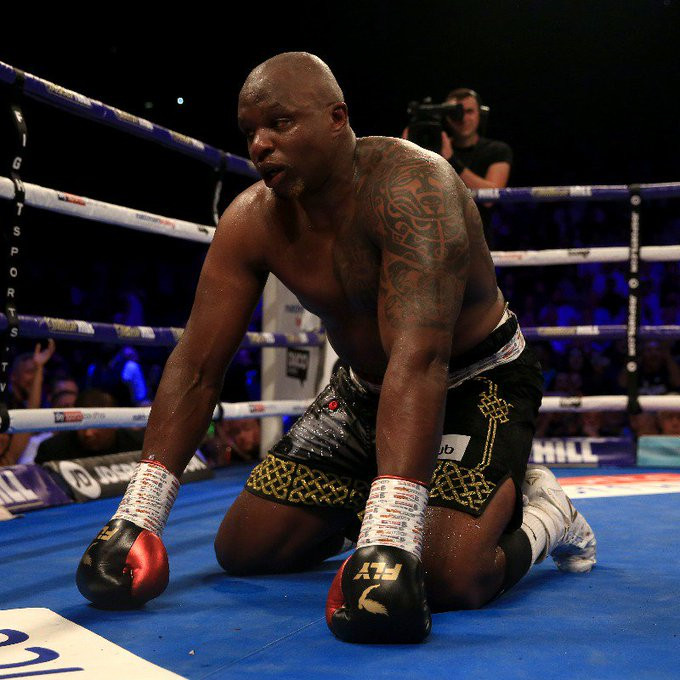 """Dillian Whyte """"British boxer"""" suspended after failing drug test"""