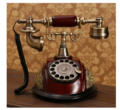 TFCFL Retro Vintage Old Fashioned Corded Phones