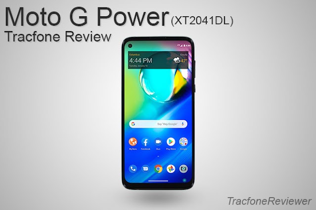 Moto G Power XT2041DL review tracfone