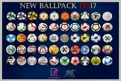 PES 2017 Ballpack Season 2018/2019 by LPE09