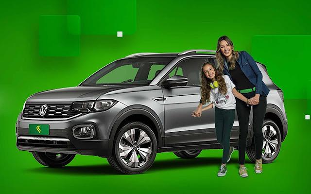 Volkswagen T-Cross Highline disponível na Localiza-Hertz